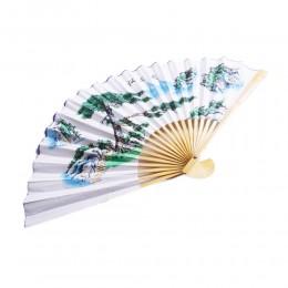 Dużu japoński wachlarz z bambusa i papieru