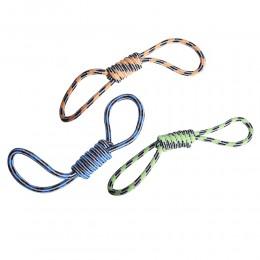 Sznurkowa zabawka dla psa w przeciąganie aport ÓSEMKA
