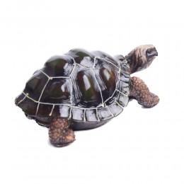 Ozdoba żółw sulcata / dekoracyjna figurka żółwia pustynnego