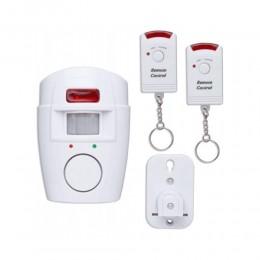 Sensor alarm / Alarm bezprzewodowy czujnik ruchu + 2 PILOTY