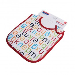 Śliniak dla dziecka śliniaczek bawełna LITERKI