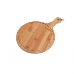 okrągła deska drewniana do krojenia serwowania talerz na sznurku