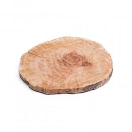 Drewniana deska kuchenna do krojenia  serwowania / krążek drewniany
