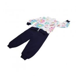 Ciepły dresik komplet dla dziewczynki Little PONY dres bluza rozm.110