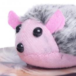 Pluszowa zabawka dla kota mysz wibrująca / naciągana myszka