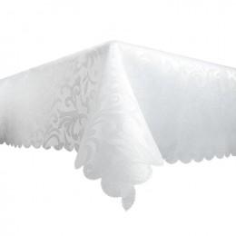 Obrus plamoodporny biały 140x220 / obrus bezplamowy