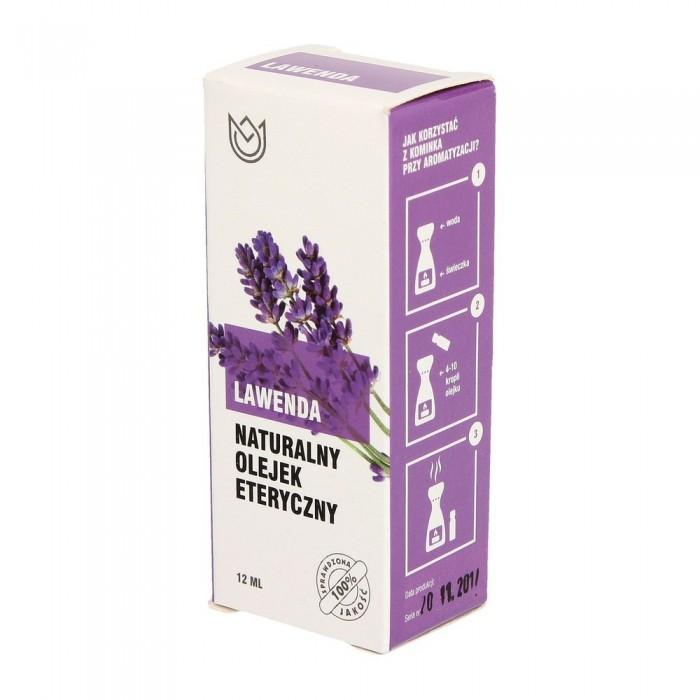 Naturalny olejek eteryczny LAWENDA 12 ml olejki zapachowe