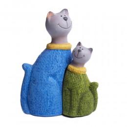 Figurka kota / figurki dekoracyjne koty para dekoracja wnętrz