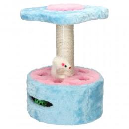 Drapak dla kota legowisko zabawka (mysz+piłeczka)