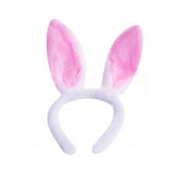 Opaska na głowę uszy królika zająca na wielkanoc lub wieczór panieński