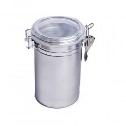 Duży pojemnik hermetyczny nierdzewny z pokrywą poj. 1000 ml
