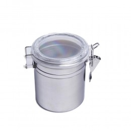 Średni pojemnik hermetyczny na żywność ze stali poj. 800 ml
