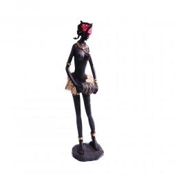 Pomysł na prezent figurka Murzynki Afrykanka Murzynka z bębnem