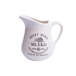 Mlecznik dzbanuszek na mleko ceramiczny Sweet Home 600 ml
