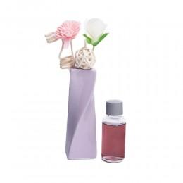 Zapach z patyczkami w wazoniku fioletowym / zapachy do domu patyczki