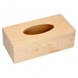 Drewniany CHUSTECZNIK pudełko na chusteczki DECOUPAGE