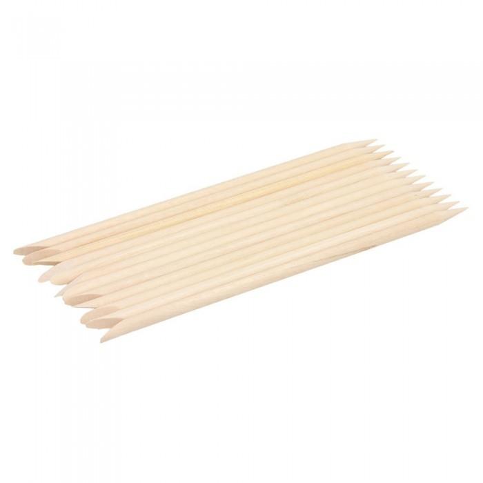 Drewniane patyczki do skórek zdobienia paznokci 12 szt