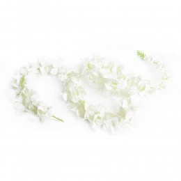 Girlanda kwiatowa sztuczna zwis kwiatowy na komunię ślub do dekoracji