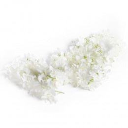 Duża girlanda kwiatowa sztuczna zwis kwiatowy na komunię ślub