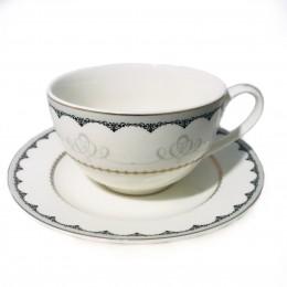 Porcelanowa filiżanka do kawy i herbaty na prezent ORNAMENT