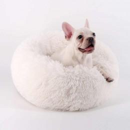 Miękkie ciepłe legowisko dla psa kota 50 cm / posłanie dla psa rozm. M