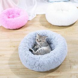Miękkie ciepłe legowisko dla psa kota 40 cm / posłanie dla psa rozm. XS