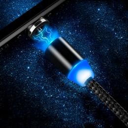 kabel magnetyczny 3W1 ładowarka IPHONE MICRO USB C