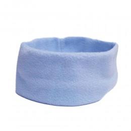 Jasnoniebieska opaska na głowę / opaska polar /opaska polarowa na uszy