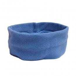 Niebieska opaska na głowę / opaska polar / opaska polarowa na uszy