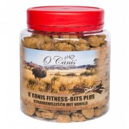 Przysmaki dla psa O Canis Fitness-Bits Plus struś z wanilią 300g