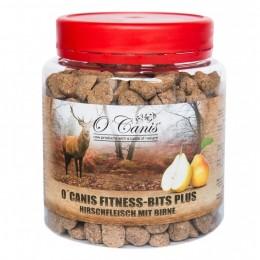 Przysmaki dla psa O Canis Fitness-Bits Plus jeleń z gruszką 300g