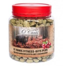 Przysmaki dla psa O Canis Fitness-Bits Plus dzik algi 300 g