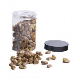 Brązowe naturalne kamienie ozdobne dekoracyjne 350g / gryz ozdobny
