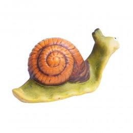 Figurka ślimaka do ogrodu lub domu