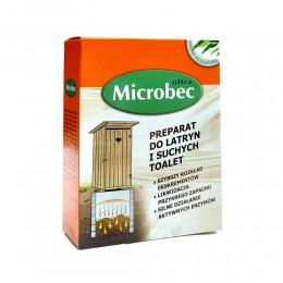BROS MICROBEC do latryn i suchych toalet 4 x 30g zapach eukaliptusa
