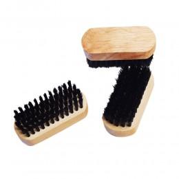 Drewniana szczotka do czyszczenia butów