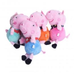 Świnka Peppa / Świnka Pepa breloczek maskotka z bajki dla dzieci