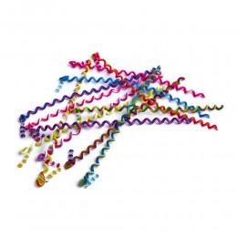 Kolorowe ozdoby do włosów spiralki sprężynki do kręcenia włosów