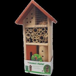 Hotel dla owadów DOMEK DLA OWADÓW pożytecznych pszczół murarek