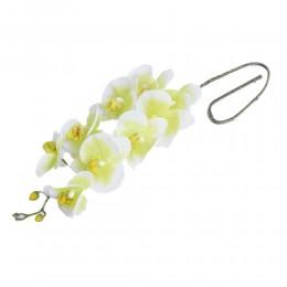 Lateksowy zielony storczyk sztuczny PHALAENOPSIS gałązka kwiatowa
