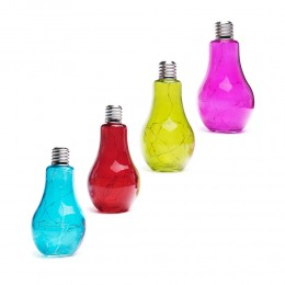 Żarówka lampa solarna LED 4 kolory do ogrodu / oświetlenie ogrodowe