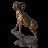 Rzeźba figurka MUFLON prezent dla miłośnika przyrody