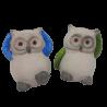 Figurka sowy na prezent urodzinowy / sowa symbol mądrości
