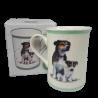 Ceramiczny kubek z psem Parson Russell terrier / kubek z terrierem