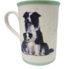 Ceramiczny kubek z psem Border Collie / kubek z border collie