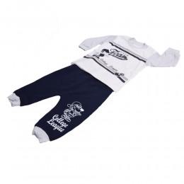 Modny zestaw dresik 86 / dres niemowlęcy 2-cz spodnie bluza