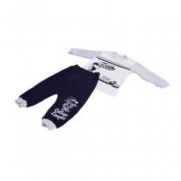 Modny zestaw dresik  / dres niemowlęcy 2-cz spodnie bluza
