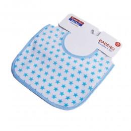 Niebieski śliniaczek śliniak dla noworodka bawełna / śliniaki dla dzieci