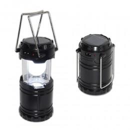Turystyczna lampa latarka solarna