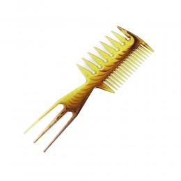 Trzy strony grzebień do włosów / grzebień do stylizacji włosów
